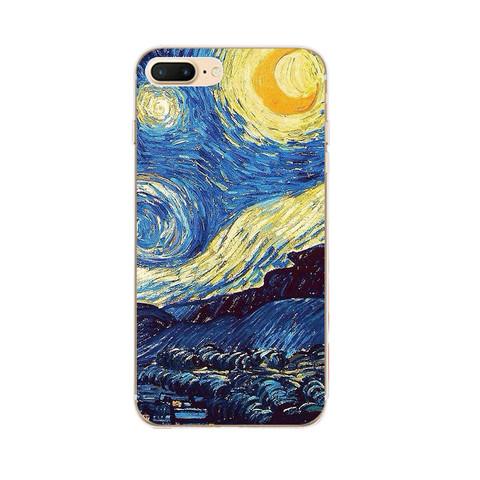Telefon üzlüyü iPhone X - Van Gogh 2