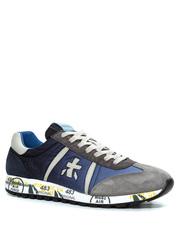 Комбинированные кроссовки Premiata Lucy 4606 на шнуровке