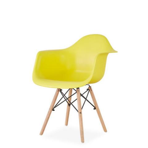 Стул-кресло DAW Eames by Vitra (желтый)