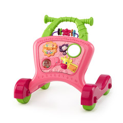 Bright Starts Ходунки-каталка «Чудесная прогулка для девочки», розовые (52001BS)