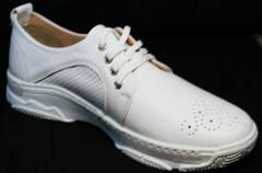 Полу туфли полу кроссовки летние женские Derem 18-104-04 All White