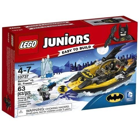 LEGO Juniors: Бэтмен против Мистера Фриза 10737 — Batman™ vs. Mr. Freeze™ — Лего Джуниорс Подростки