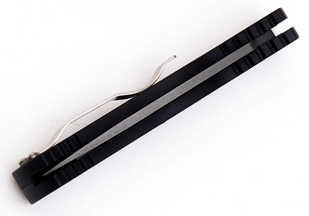 Нож Pro-Tech TR-2 Custom Damascus - фотография