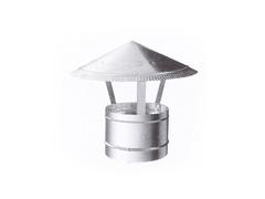 Зонтик крышный D 125 мм оцинкованная сталь