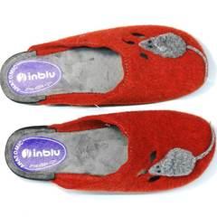 Уютные тапочки для дома женские Inblu NC- 1B Mouse Rad