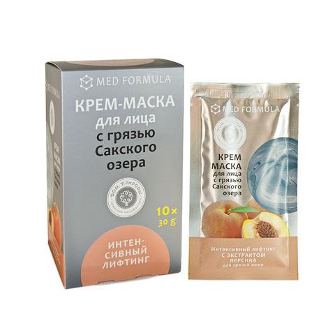 МДП Крем-маска ИНТЕНСИВНЫЙ ЛИФТИНГ для зрелой кожи с грязью Сакского озера (саше пакет 30г)