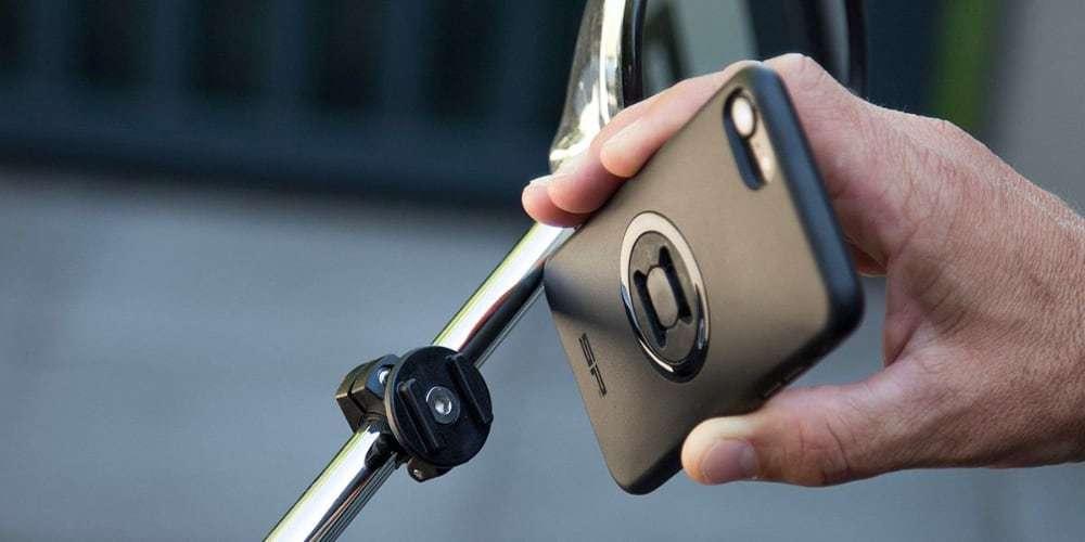 Набор креплений для смартфона на мотоцикл SP Connect Moto Mirro Bundle Universal крепеж