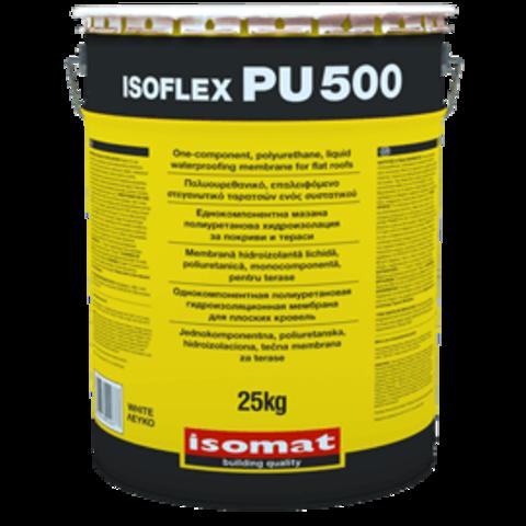 Isomat Isoflex PU 500/Изомат Изофлекс ПУ 500 полиуретановая однокомпонентная жидкая гидроизоляционная мембрана