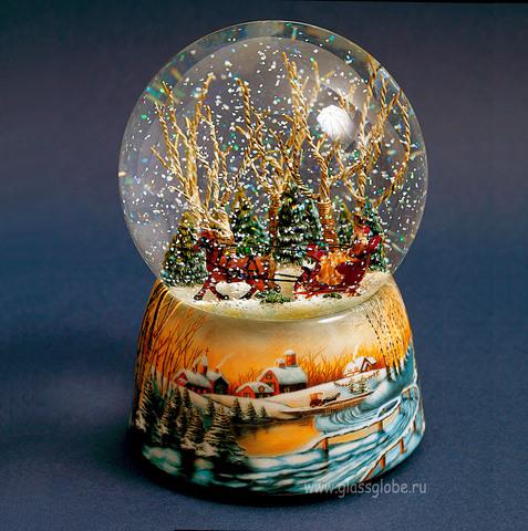 Снежный шар Прогулка
