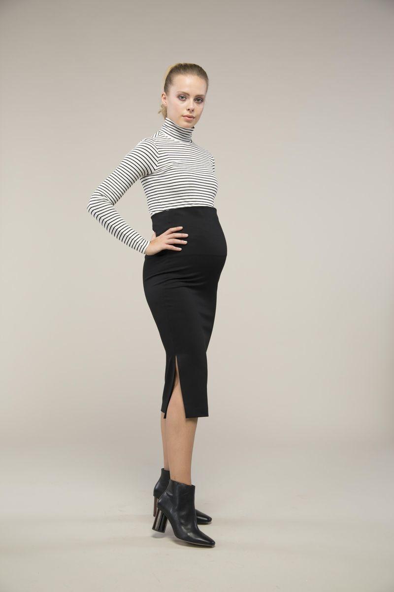 Юбка для беременных 08997 чёрный