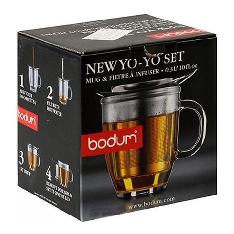 Набор Bodum Yo-Yo (кружка 0,35 литра + сито-фильтр)