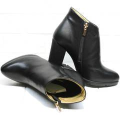 Ботинки ботильоны Jina 5992 Black