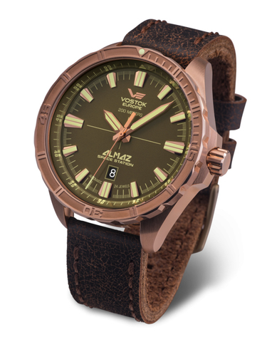 Часы наручные Восток Европа Алмаз Бронза NH35A/320O516