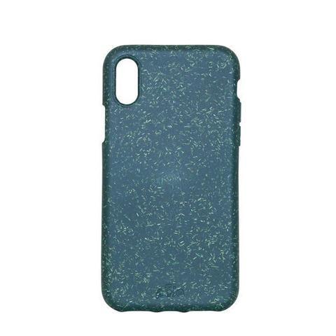 Чехол Pela для телефона iPhone X зеленый
