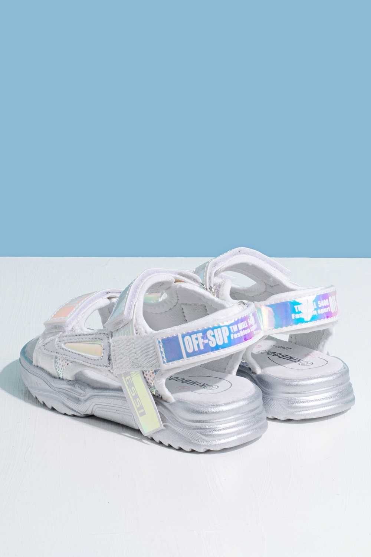 Босоножки белые для девочки 205-0042-1