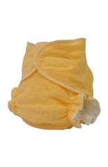 Многоразовый тканевый подгузник для новорожденных Little Pirate Персик, на липучках