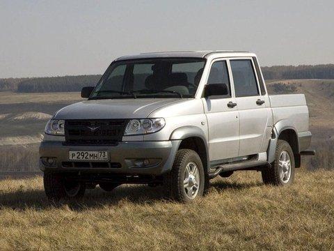 Чехлы на UAZ Pickup 2008–2014 г.в.