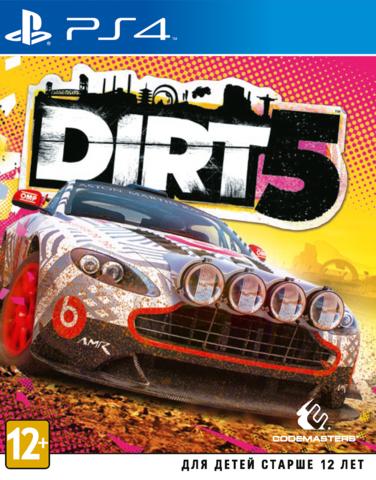 PS4/PS5 Dirt 5 (английская версия)