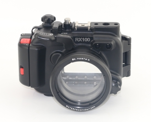 Meikon RX100 aluminium подводный бокс для Sony RX100