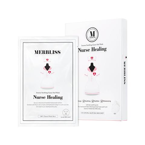 Маска MERBLISS Nurse Healing Gauze Seal Mask 5pcs 5шт.