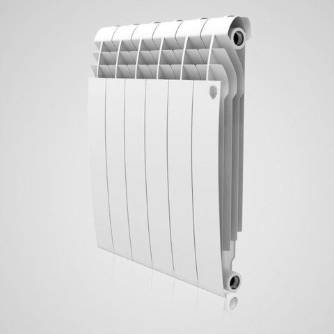 Радиатор биметаллический Royal Thermo Biliner Bianco Traffico 350 (белый)  - 4 секции
