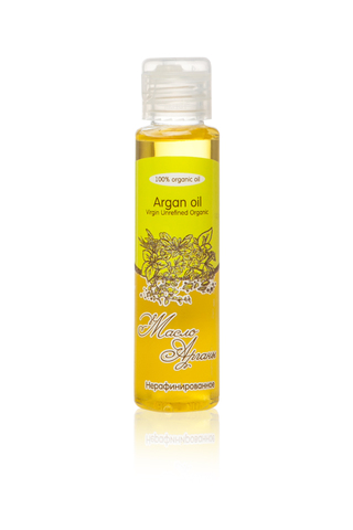 Масло АРГАНЫ Argan Oil Virgin Unrefined Organic нерафинированное, 50 ml