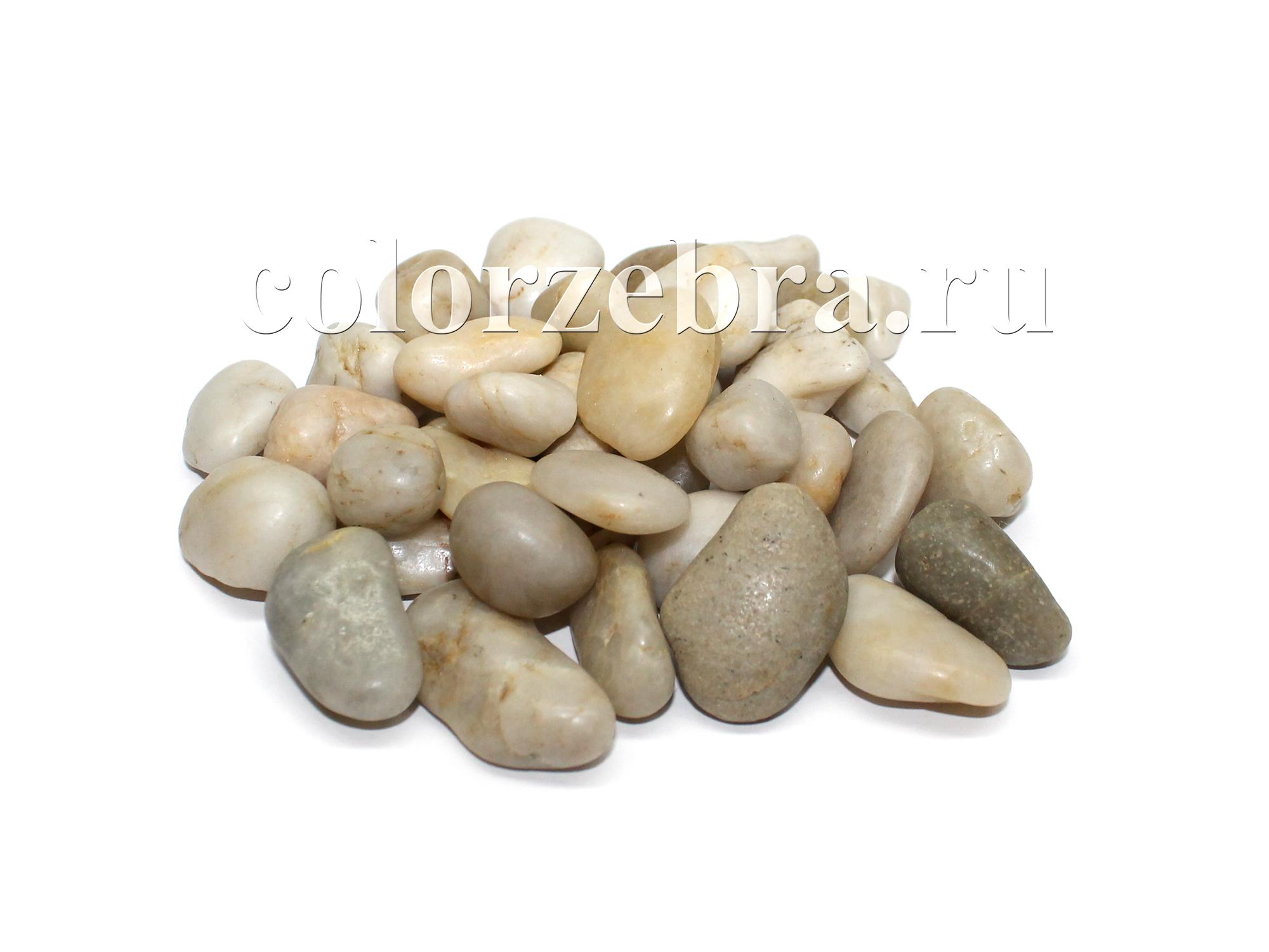 Камушки натуральные декоративные