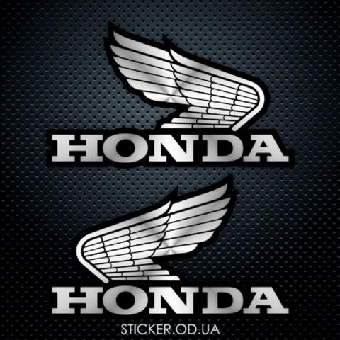 Виниловые наклейки на мотоцикл Honda