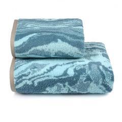 Полотенце махровое пестротканое Agata di colore