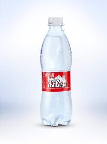 Вода Живода газ, 0,5л. (Главводком)
