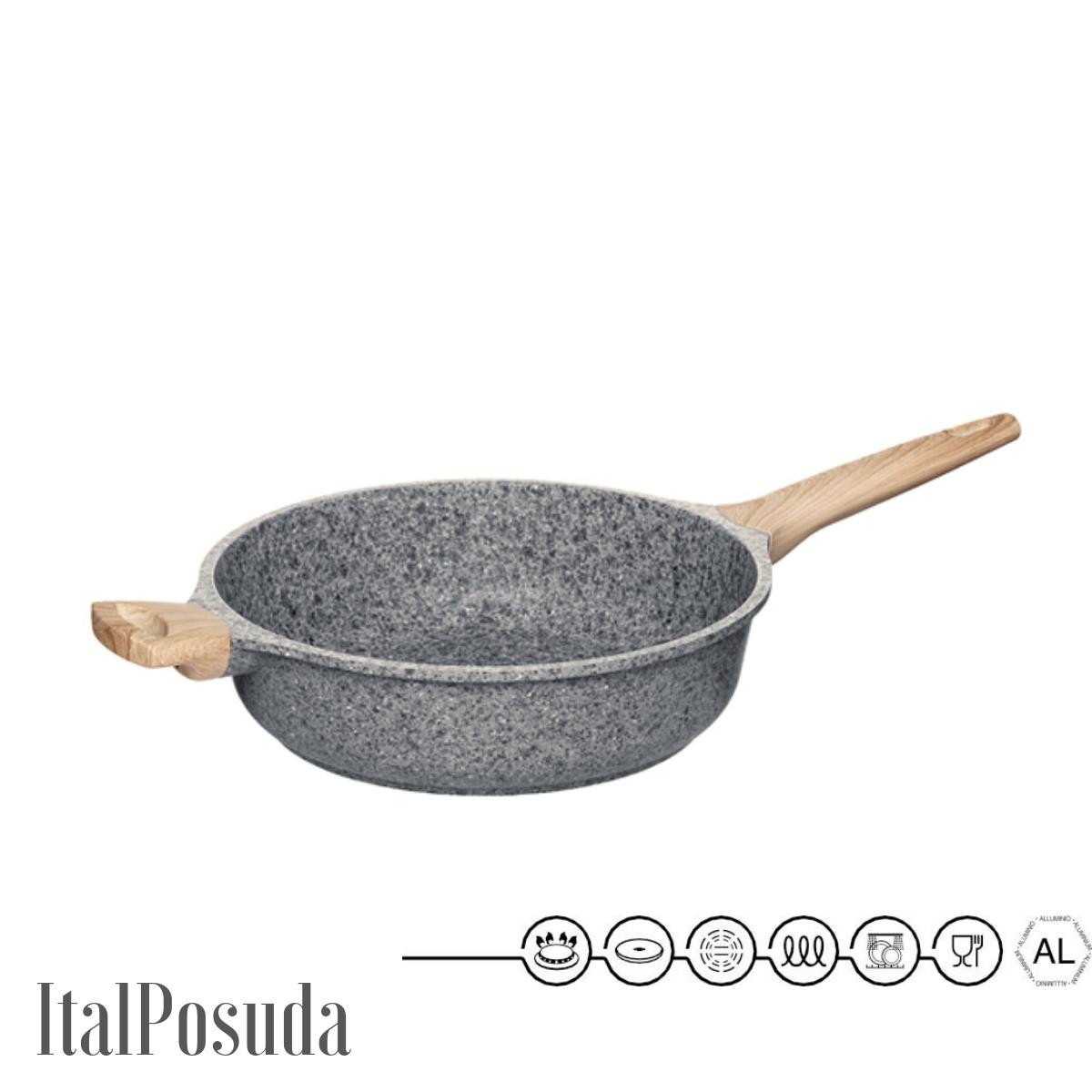 Глубокая сковорода NADOBA MINERALICA, 28 см