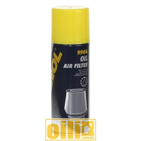 масляная пропитка, масляная пропитка воздушных фильтров, пропитка для фильтра нулевого сопротивления, купить Mannol air fiter oil, пропитка нулевиков