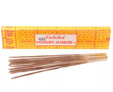 Индийские палочки Goloka Nagchampa Agarbatti