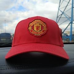 Кепка Манчестер Юнайтед красная (Бейсболка FC Manchester United)