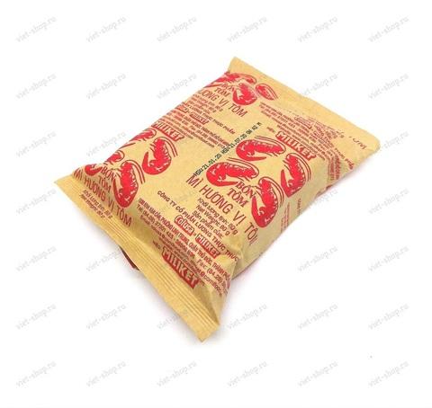 Вьетнамская пшеничная остро-кисло-сладкая лапша Miliket со вкусом креветки, 80 гр.
