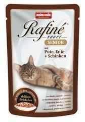 Animonda Rafine Senior пауч для кошек старше 7 лет (с индейкой, уткой и ветчиной) 100 г