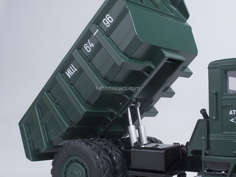 MAZ-525 Tipper 25 tons dark green 1:43 Start Scale Models (SSM)