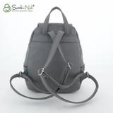 Сумка Саломея 502 темно-серый (рюкзак)