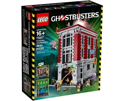 LEGO Ghostbusters: Штаб-квартира Охотников за привидениями 75827 — Firehouse Headquarters — Лего Охотники за привидениями