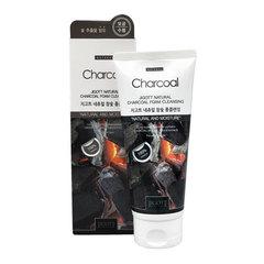 Jigott Natural Charcoal Foam Cleansing - Очищающая пенка с углём