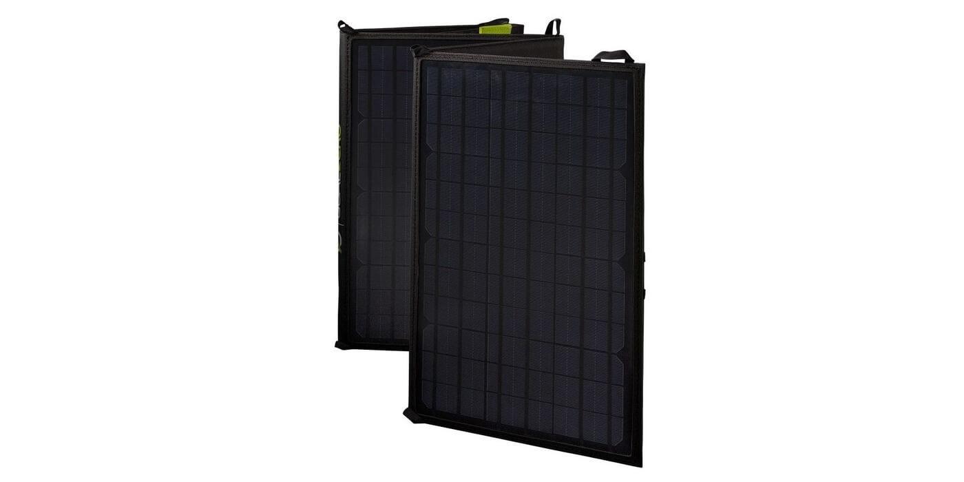 Солнечная панель Goal Zero Nomad 50 вид сбоку