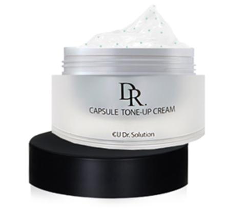 Обновляющий Крем С Пептидами CUSKIN DR. SOLUTION Capsule Tone-Up Cream