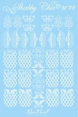 Трафарет для дизайна Shabby Chic 14 комбинированный