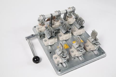 РПБ-4/1Л У3 TDM (400А,  левый привод, без плавких вставок)