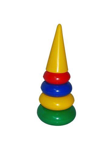 Пирамидка маленькая 35см 4 кольца /8004