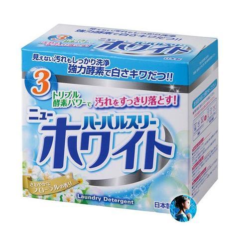 Стиральный порошок Двойная сила ферментов с отбеливающим эффектом Mitsuei New White 850 гр