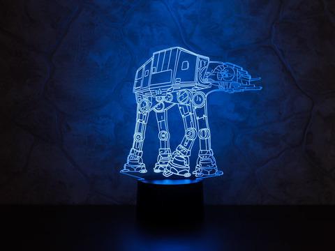3D светильник AT-AT