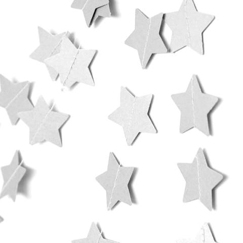 Подвеска Звезды, Белый металлик