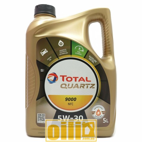 Total QUARTZ 9000 FUTURE NFC 5W-30 5л