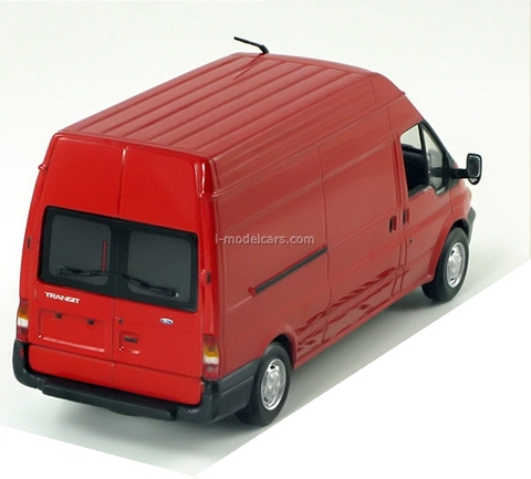 Ford Transit delivery van 2000 red Minichamps 1:43